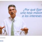 Welmer Ramos explica las ventajas de fijar un tope a las tasas de interés / Video