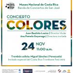 Un concierto dominguero lleno de «colores» en el Museo Nacional