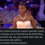 #Quenolemientan Extraordinaria cantante africana no es de Limón como dice un meme que circula