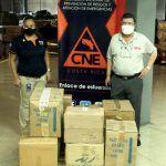 Uruk Editores dona 2.677 libros a CNE que se incluirán en canastas de víveres