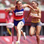 Andrea Vargas quedó con cuarto mejor tiempo entre todas las competidoras